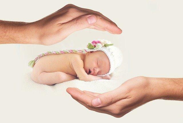 turban pour bébé